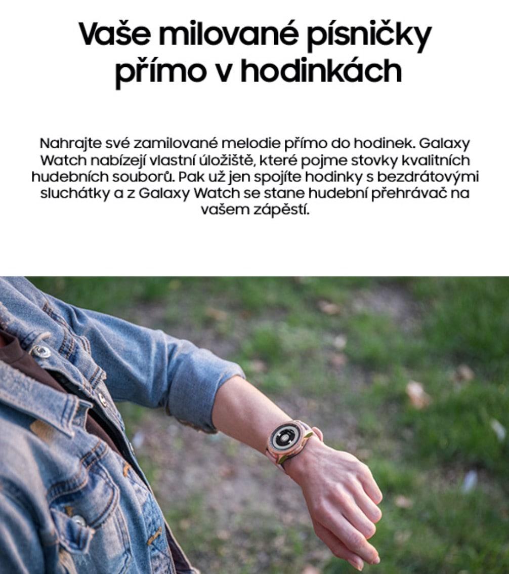 Chytré hodinky Samsung Galaxy Watch 42mm – obě barvy 1-min