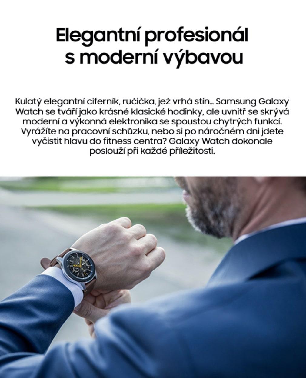 Chytré hodinky Samsung Galaxy Watch 46mm 2-min