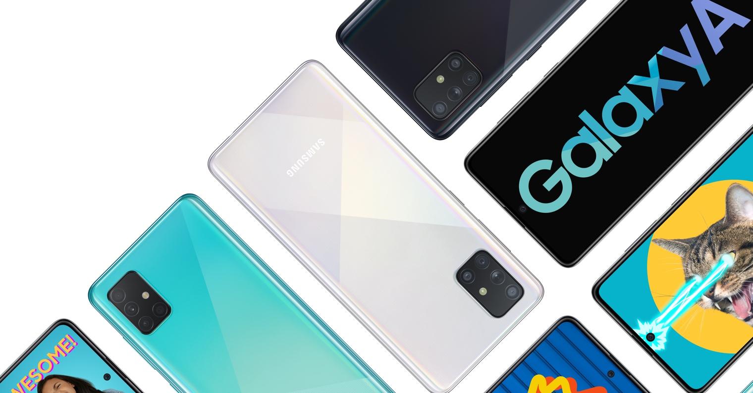 Samsung Galaxy A51 A71 FB