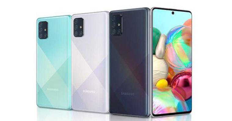 Samsung Galaxy A71 fb