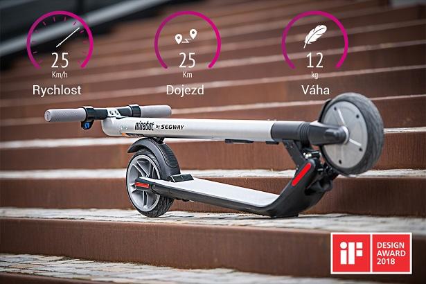 Elektrokoloběžka Ninebot by Segway Kickscooter ES2 1