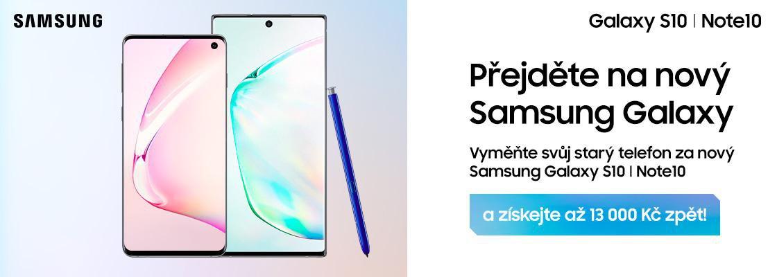 MP Přejděte na nový Samsung Galaxy