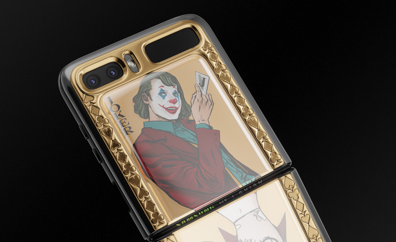 Samsung Galaxy Z Flip Joker Caviar 3