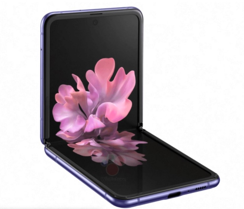 Samsung Galaxy Z Flip Render Unofficial 4