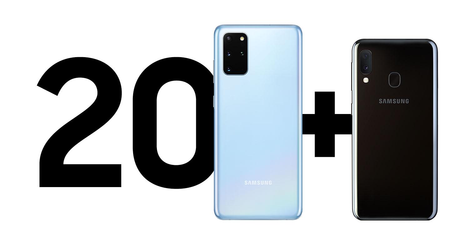 Mobil Pohotovost-Galaxy S20 a A20e zdarma
