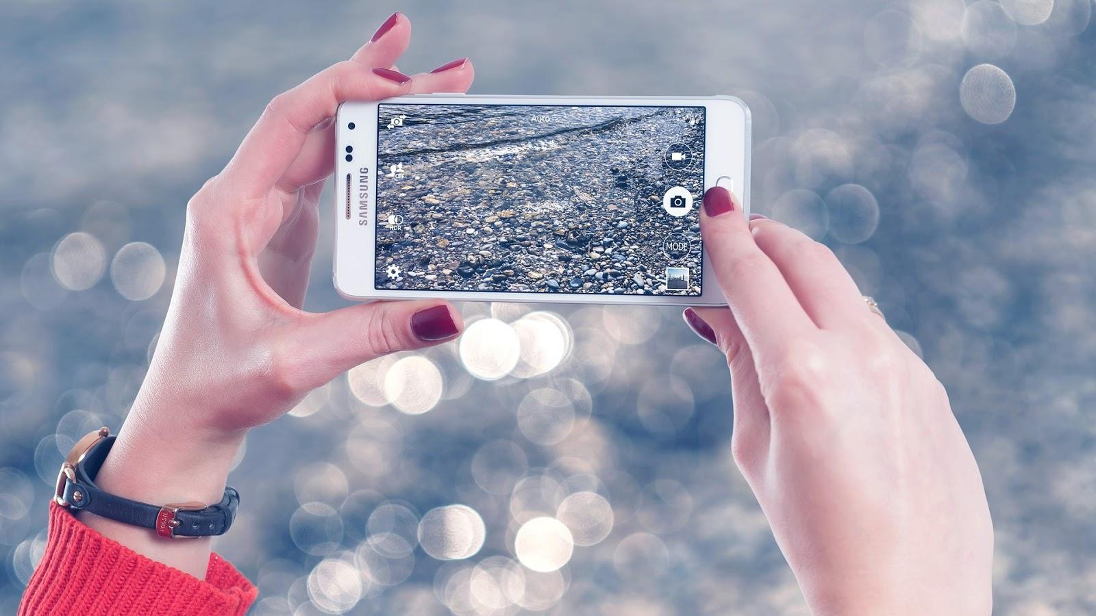 Chytré telefony od Samsungu - nákup na amazonu